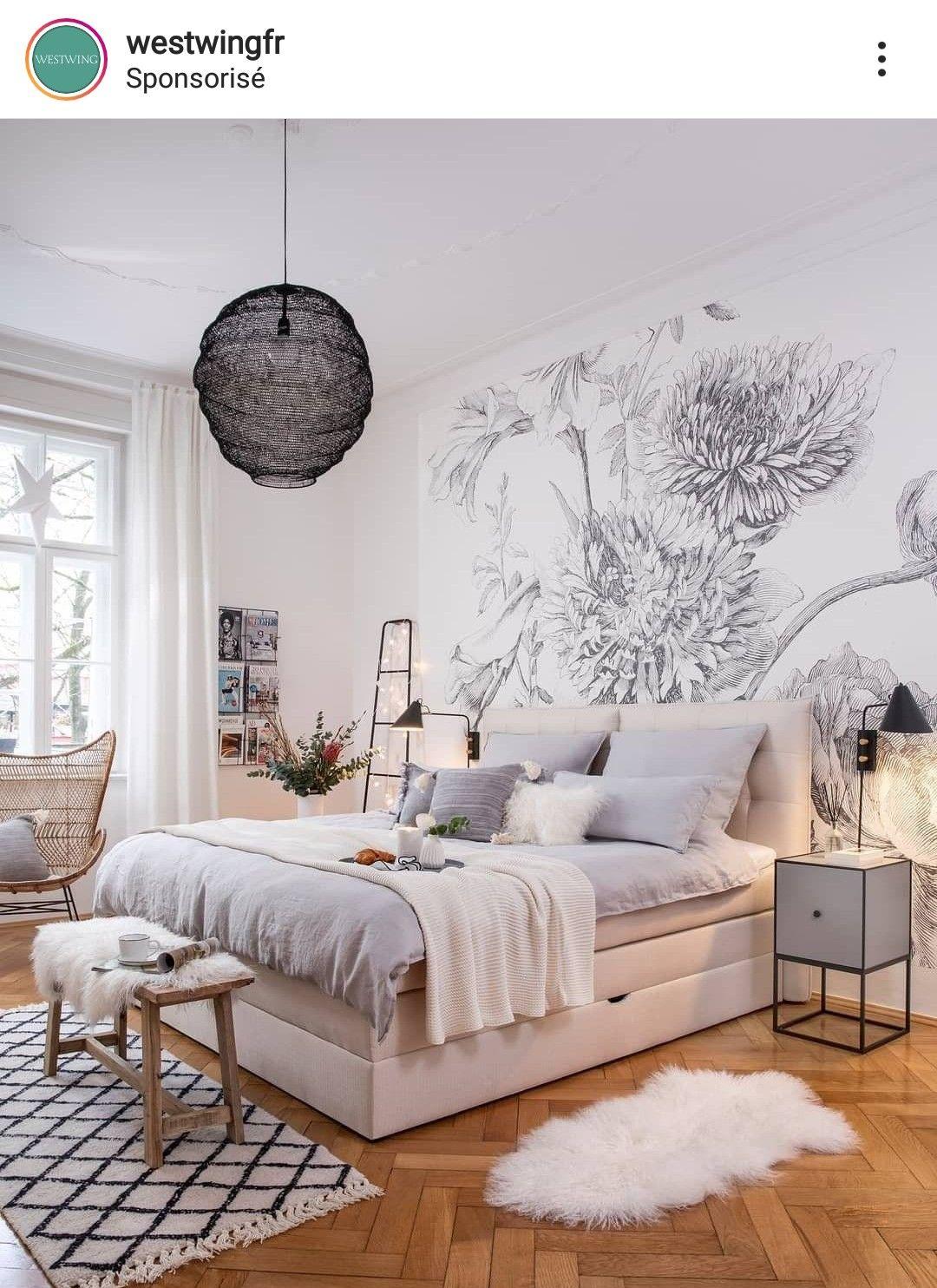 Pingl par st phanie bo sur dream house decoration Organisation chambre adulte