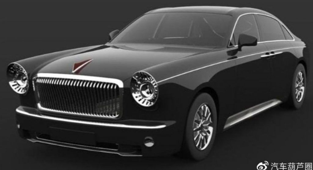 New Hongqi L5 Has A V12 Rolls-Royce-Wannabe Profile Design