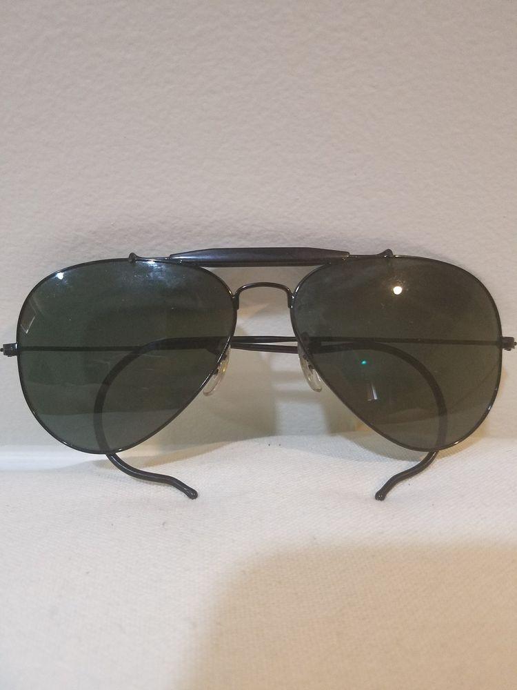 e33d5b85d Ray-Ban Black Outdoorsman Aviator Sunglasses RB3030 L9500 (eBay Link ...