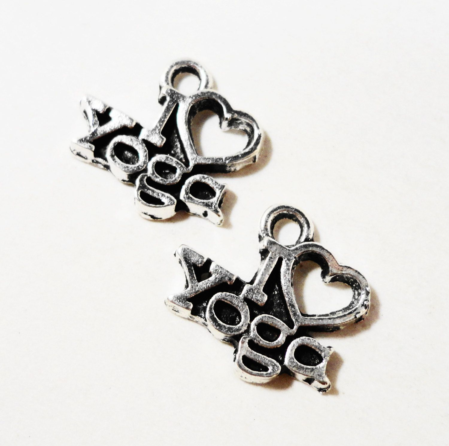 I love yoga charms 13x12mm antique silver i love yoga pendants i i love yoga charms 13x12mm antique silver i love yoga pendants i heart yoga charms mozeypictures Images