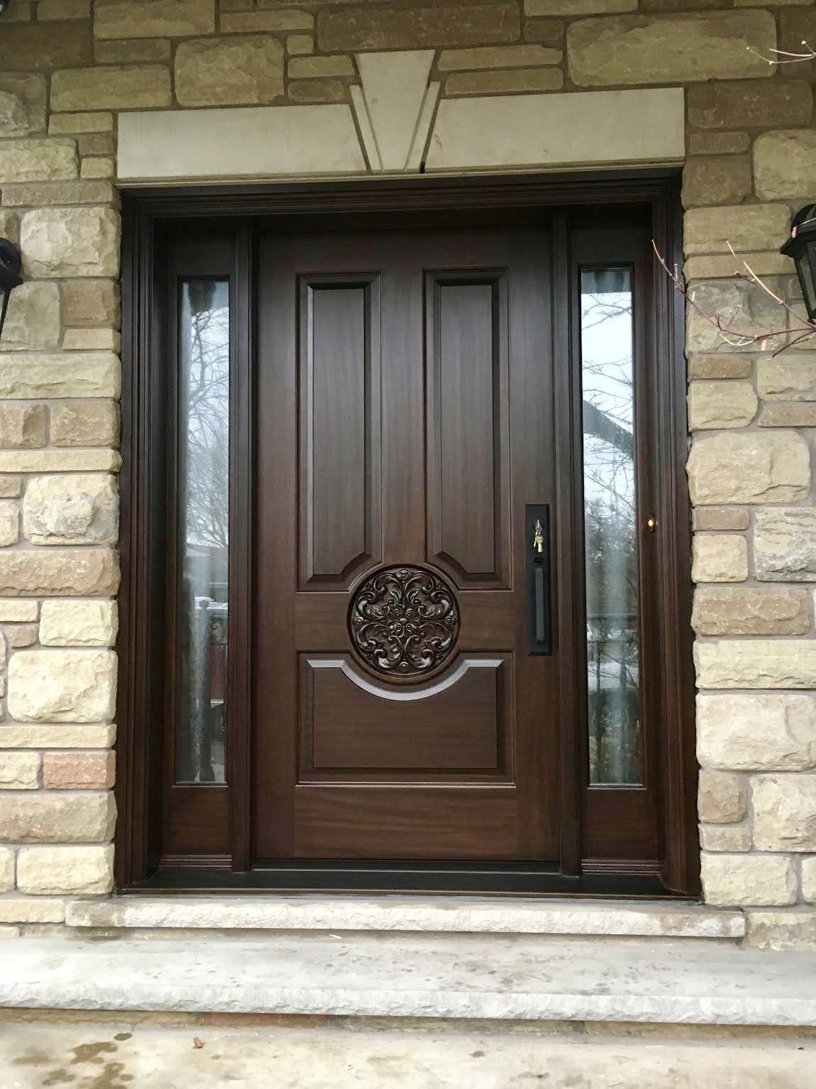 Single Entry Doors Amberwood Doors Inc Wooden Front Door