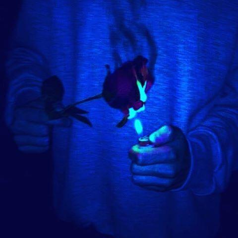 fiyaa #blueaesthetic