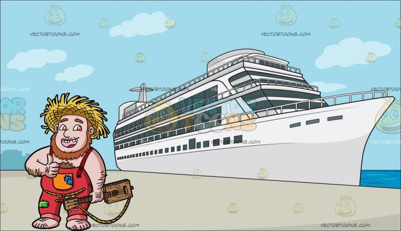 A Yokel Who Loves Music At A Luxury Cruise Ship Liner Cruise - Cruise ship jumper