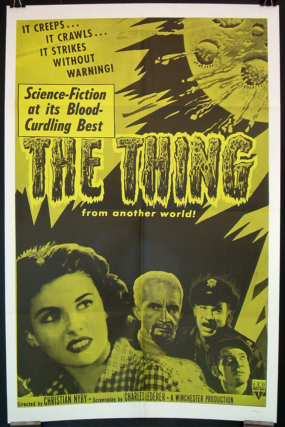 The Thing from Another World (1951) | Movie posters ...