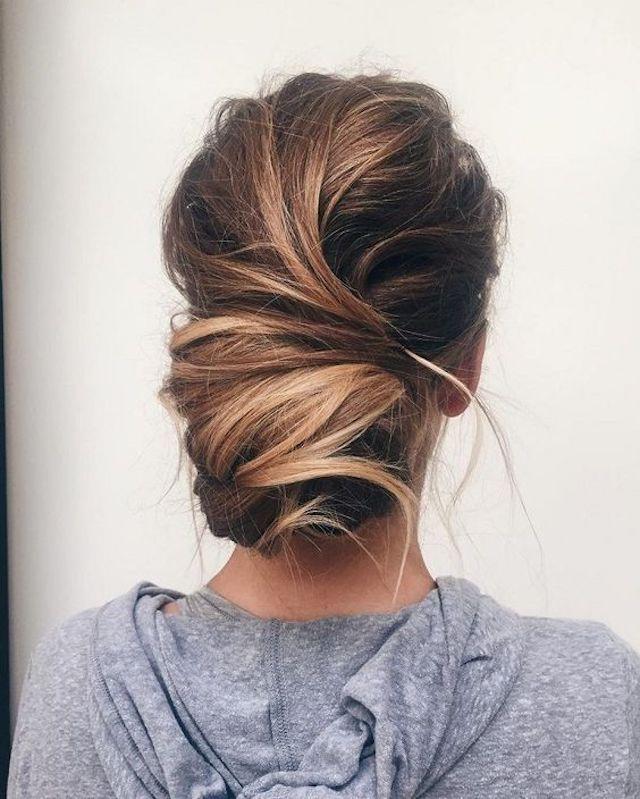Low Bun Hairstyles For Weddings: 2018 Wedding Hair Trends