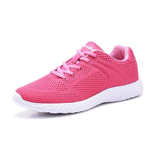 75caf964b COODO CD8004 Light weight Women's Fashion Sneakers Casual Sport Shoes FUCH/ PINK/WHITE-8