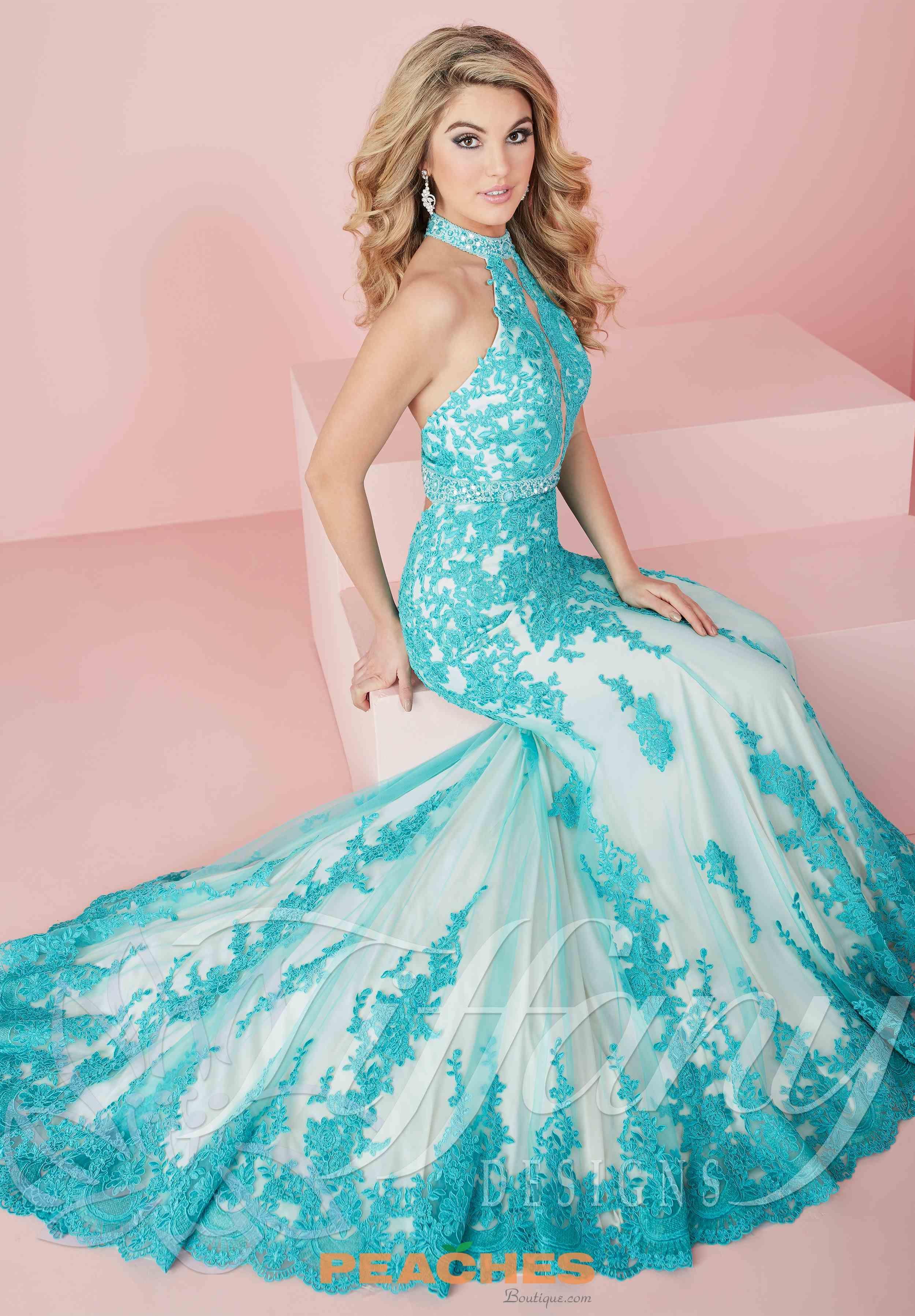 tiffany lace fitted dress 16150 | 2017 tiffany dresses | pinterest