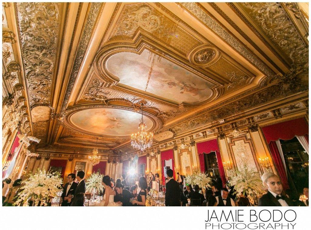 Metropolitan Club NYC Wedding Reception Room Metropolitan
