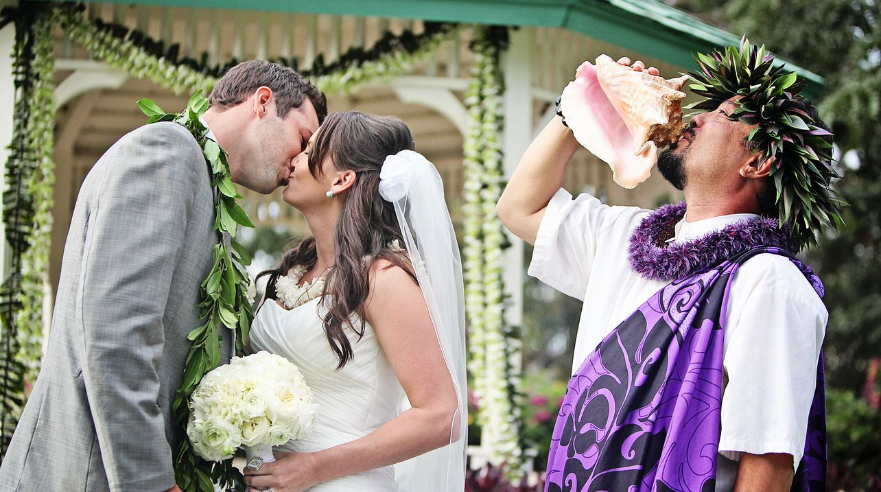 The Traditional Hawaiian Wedding Ceremony