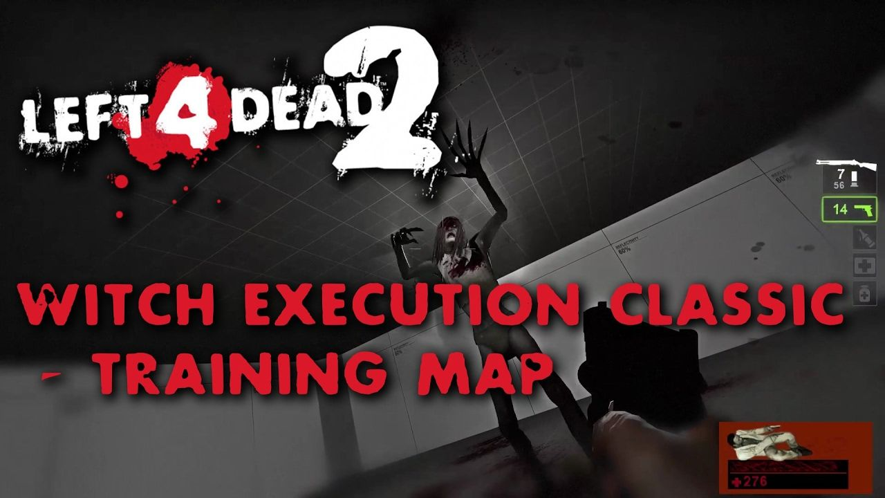 Left 4 Dead 2 #l4d2map | Witch Execution Classic - Training Map | Gamepl...