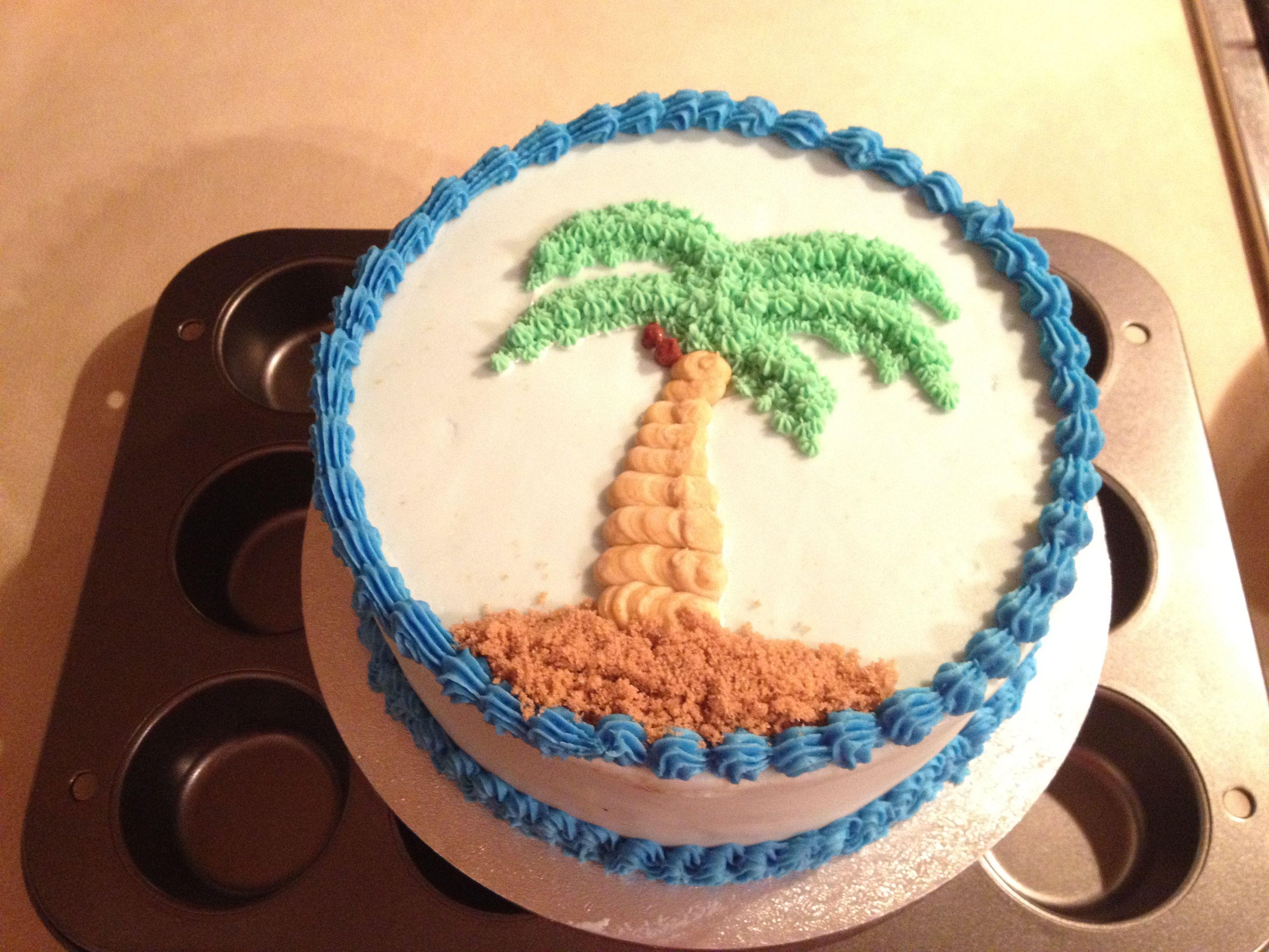 Palm Tree Cake Sweet Cakes Pinterest Palm Tree Cakes Tree
