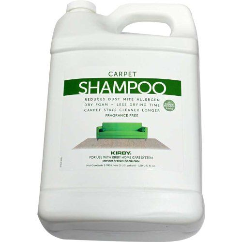 Kirby Carpet Shampoo Allergen Control Formula Lavender Scent 1 Gallon Carpet Shampoo Kirby Carpet Shampoo Lavender Scent