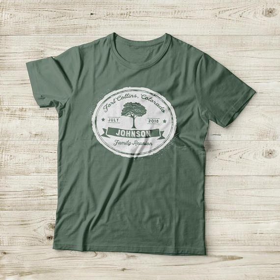 Tree Family Reunion T-shirt Design | Family Reunion | Pinterest ...