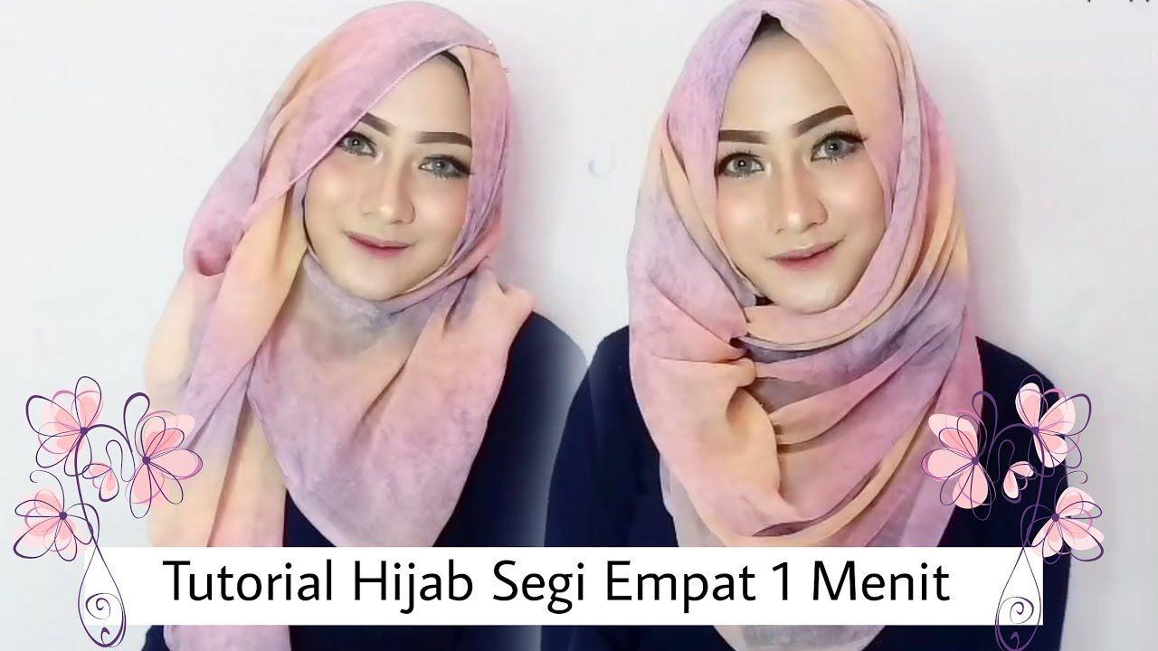 Tutorial Hijab Segi Empat Simple Resepsi Kursus Hijab Pesta Hijab