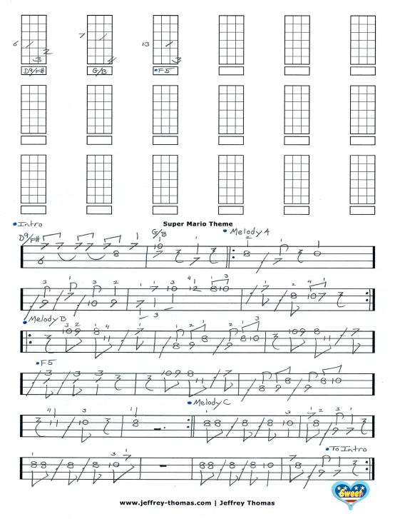 Up theme song ukulele chords