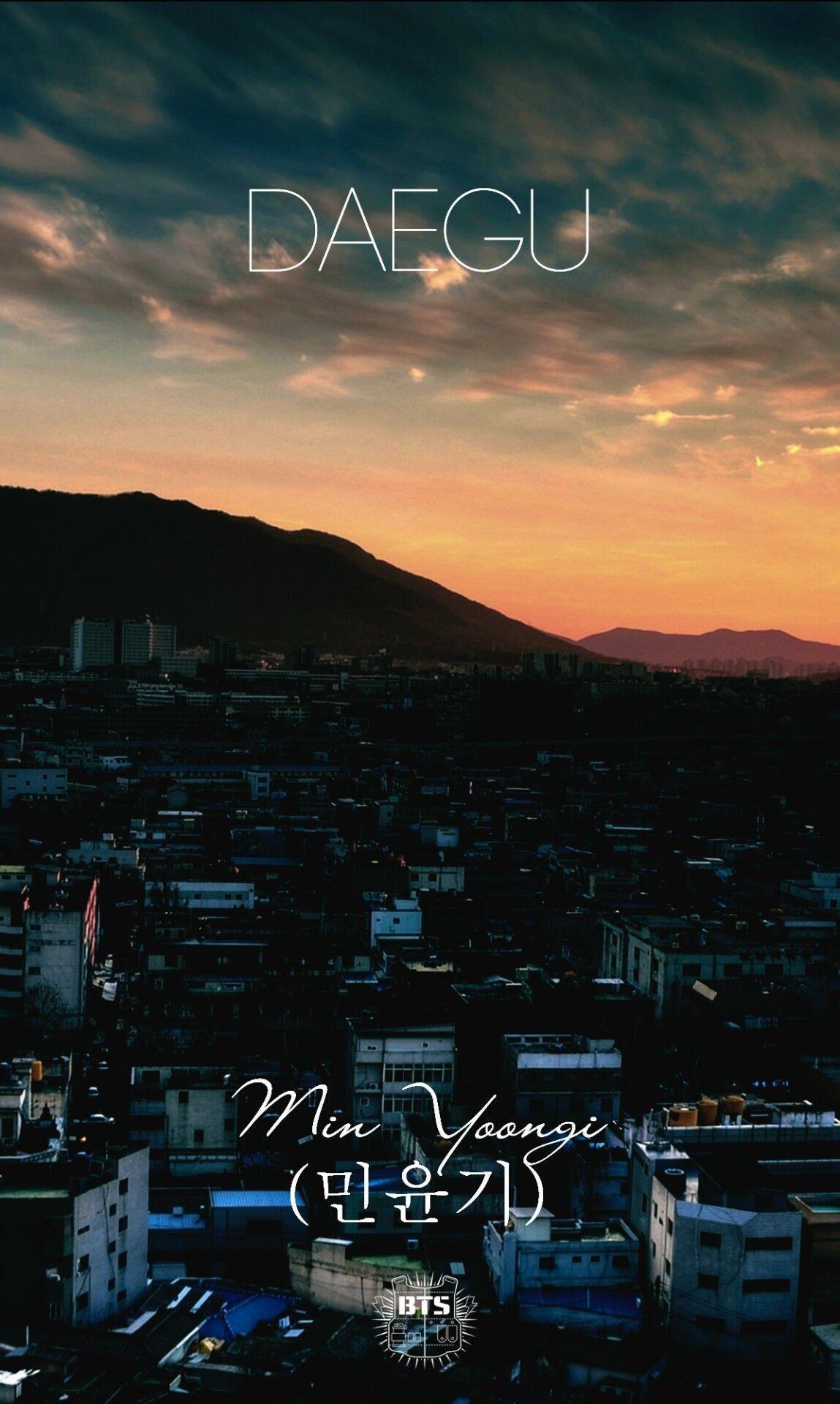 Daegu (With images) Bts wallpaper, Bts lockscreen, Bts
