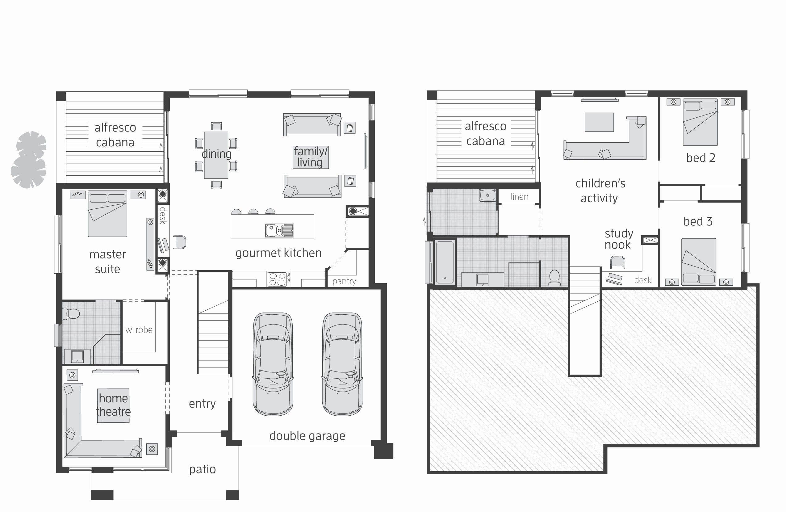 Split Floor Plan Homes Inspirational Best 25 Level House Plans Striking Modern House Plans Split Level House Plans Bedroom House Plans