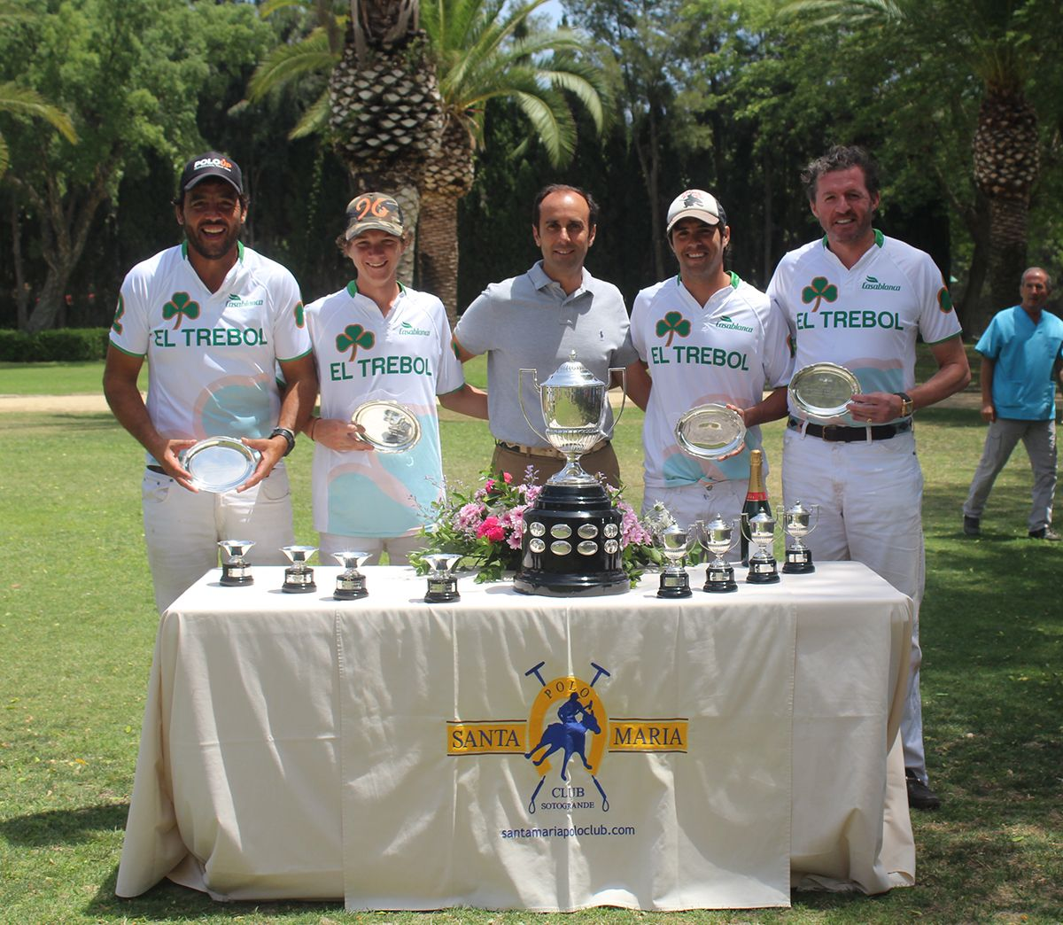 El Trébol, tercera posición del  XIII Memorial Manuel Prado y Colon de Carvajal, celebrado del 15 al 17 de julio de 2016 en las canchas de Puente de Hierro de Santa María Polo Club.
