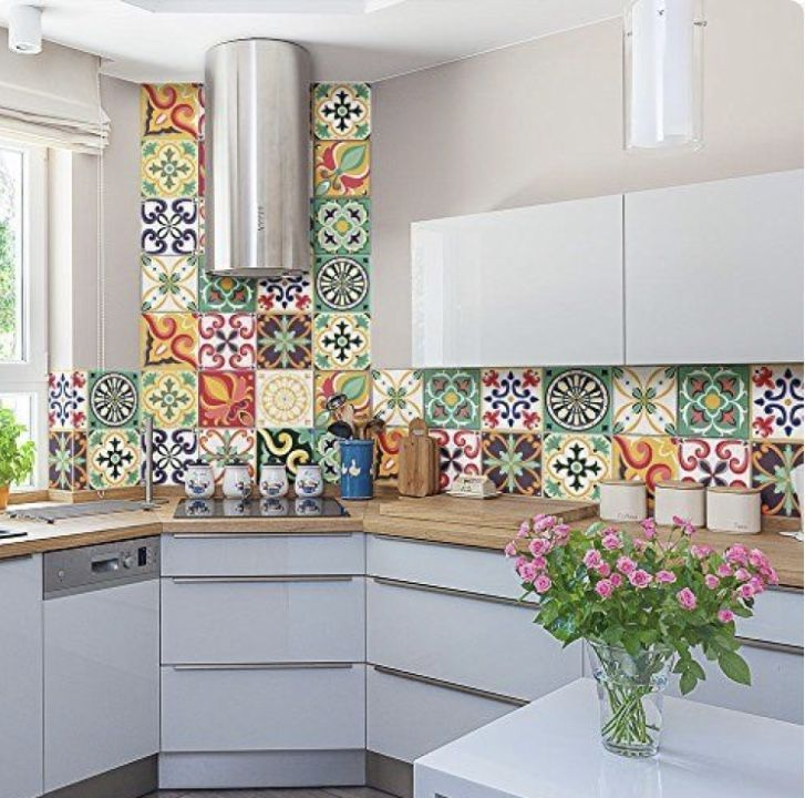 10 Unique Small Kitchen Design Ideas: 10 Chic Kitchen Ideas #kitchenbacksplash