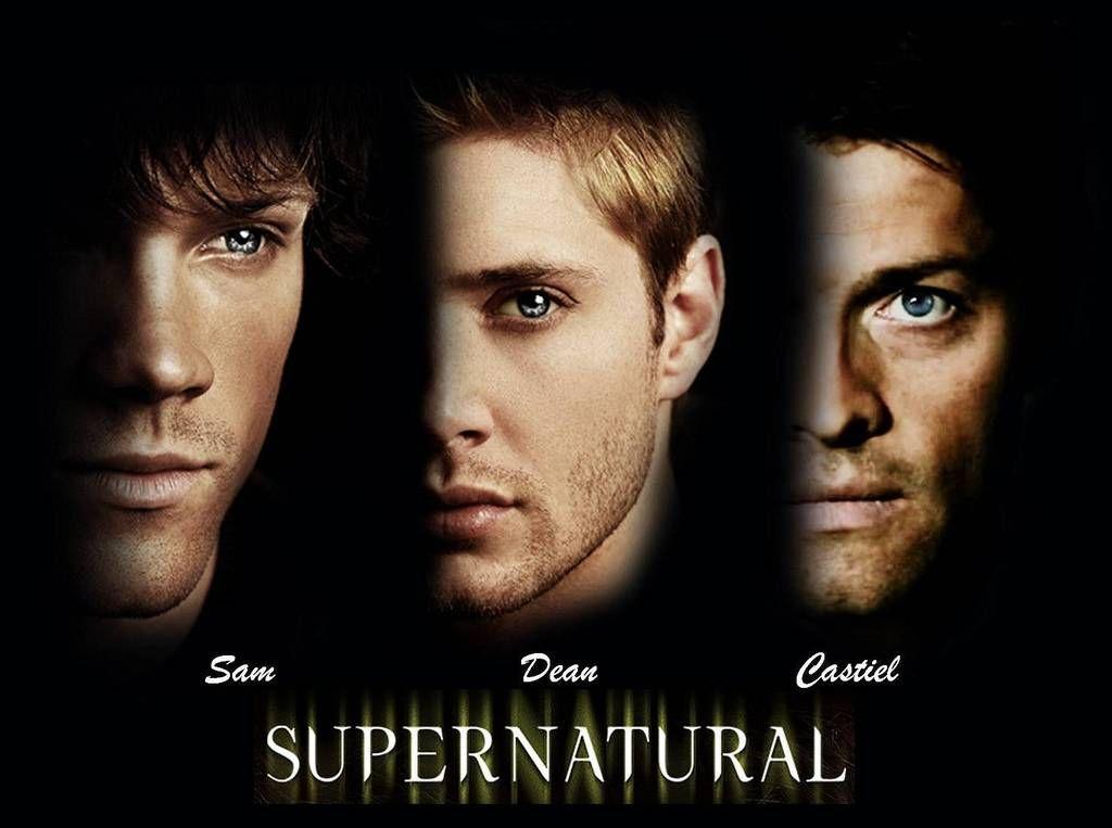 Sam, Dean, & Castiel Supernatural Wallpaper   Supernatural