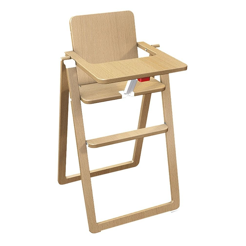 Supaflat High Chair Natural Supaflat Design Baby Chaise Haute Chaise Haute Pliable Chaise Haute Bois