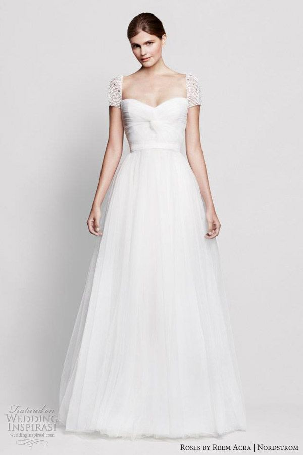 Roses by Reem Acra for Nordstrom Wedding Dresses | Nordstrom wedding ...