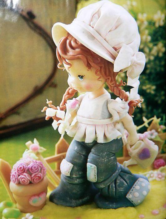 Журнал Porcelana Fria. Лепка из пластики. Комментарии : LiveInternet - Российский Сервис Онлайн-Дневников