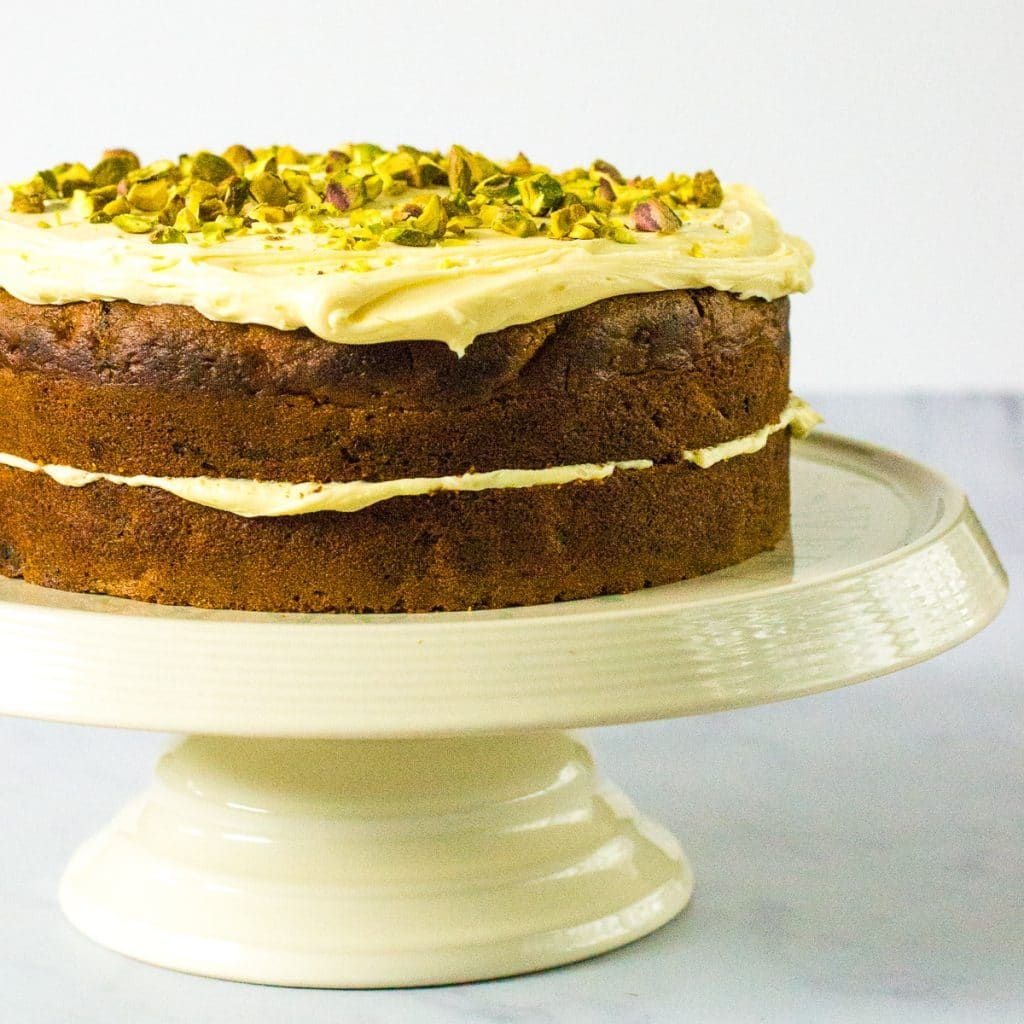 Easy vegan carrot cake with images dairy free cream