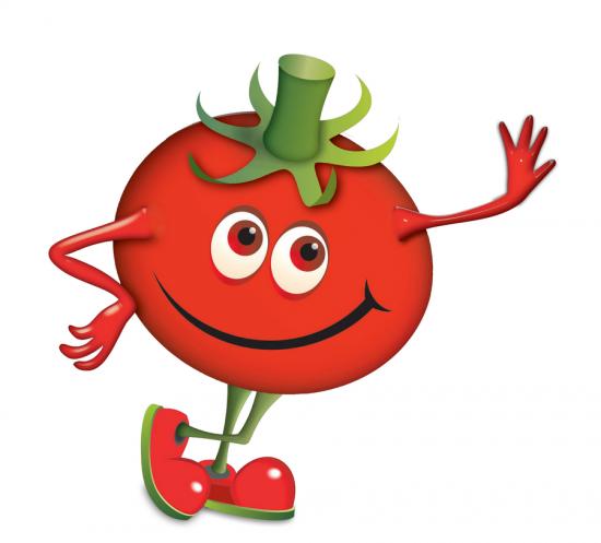 Картинки помидора с глазами