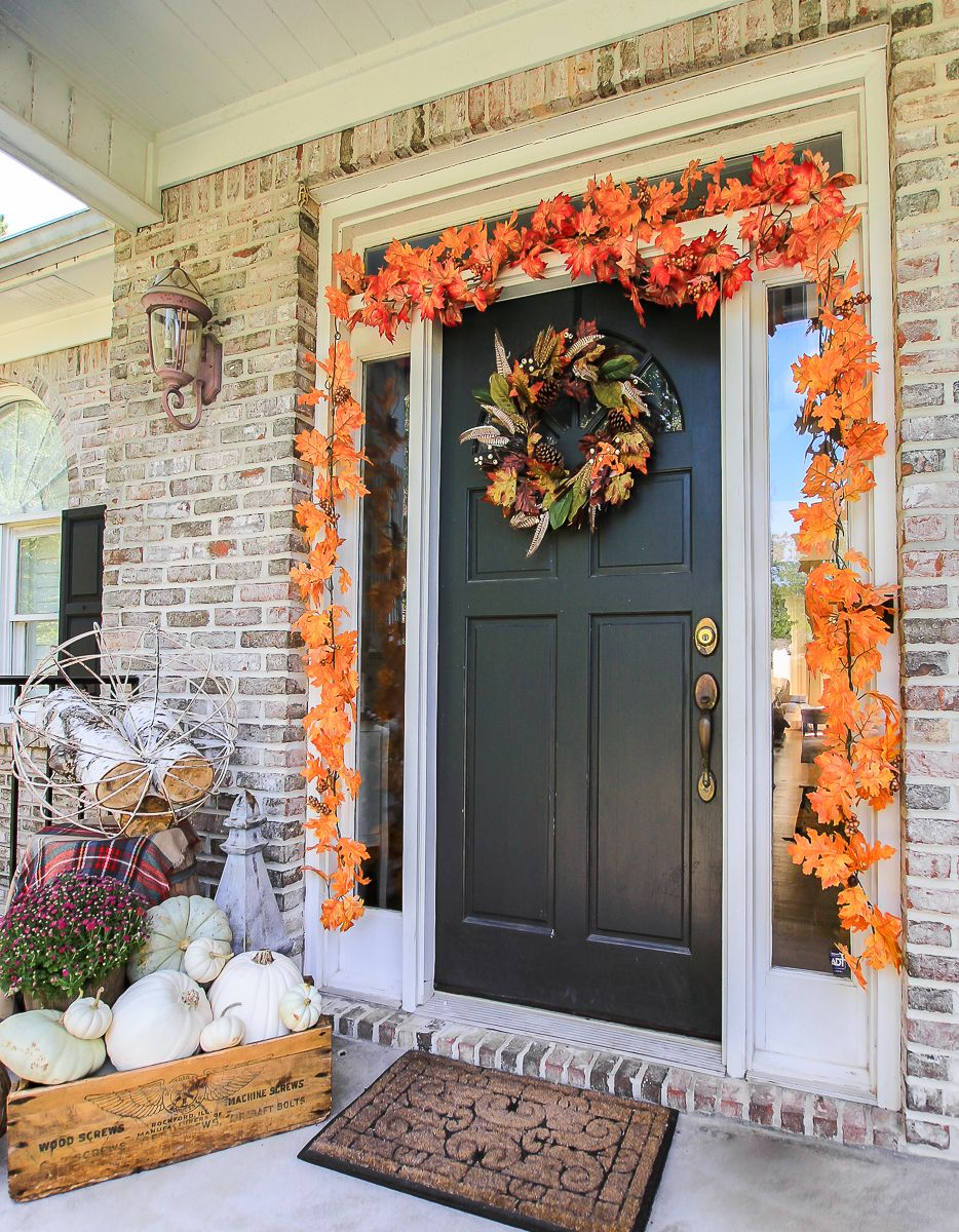 Welcome Fall Time to Decorate  Unskinny Boppy  Crafts u DIY