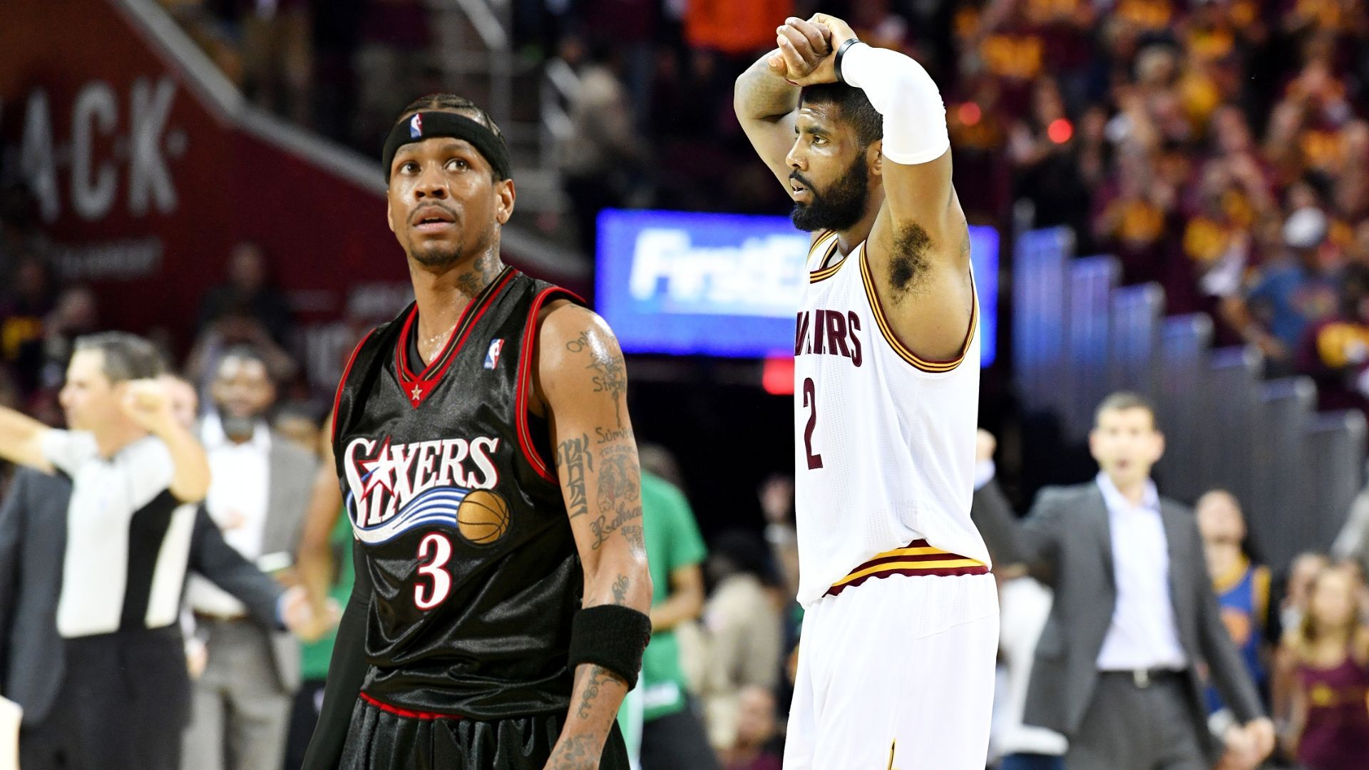 Is kyrie better than iverson espn video