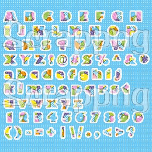 86 Easter Alphabet Scrapbooking Letters 199 Scrappng