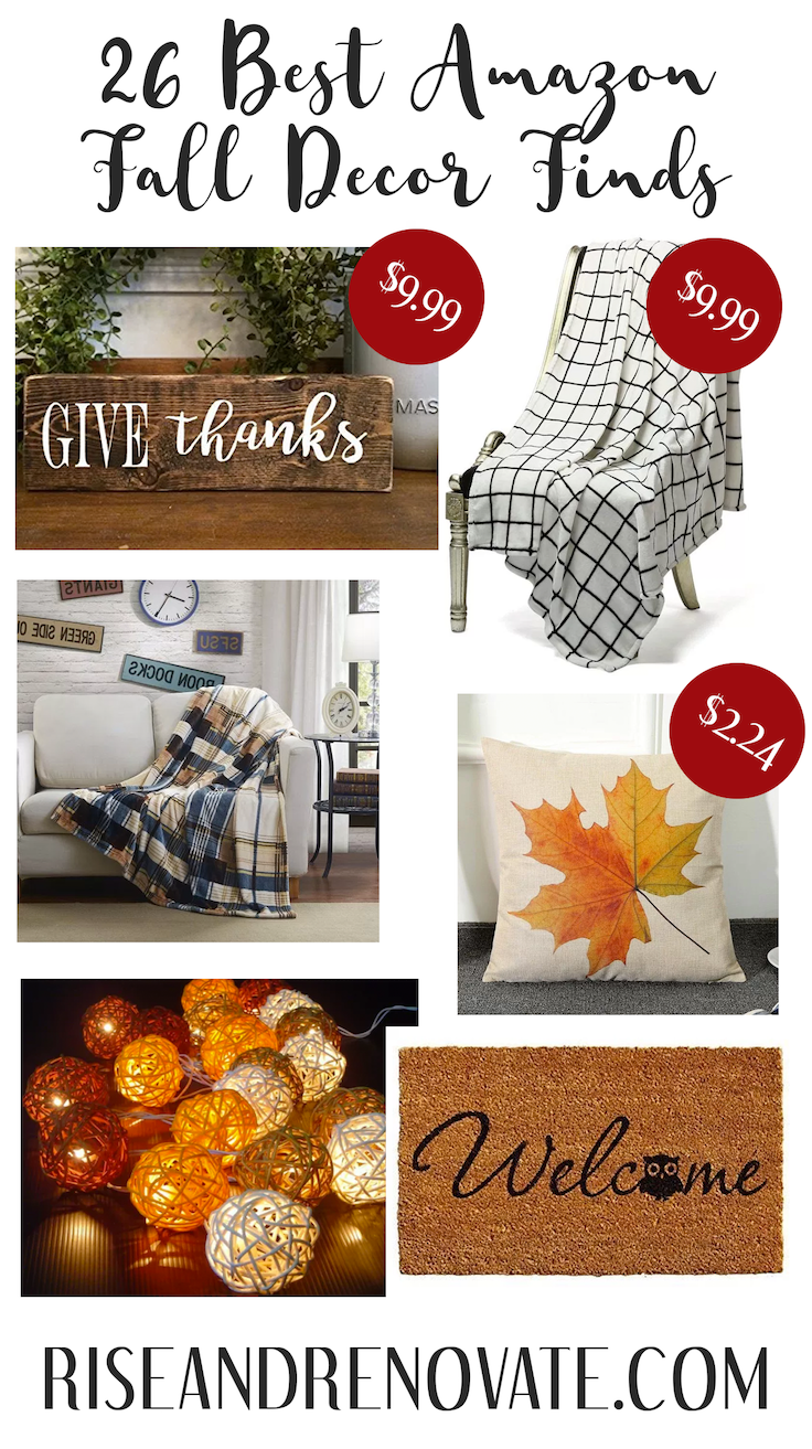26 Best Amazon Fall Decor Pieces Fall Decor for Your