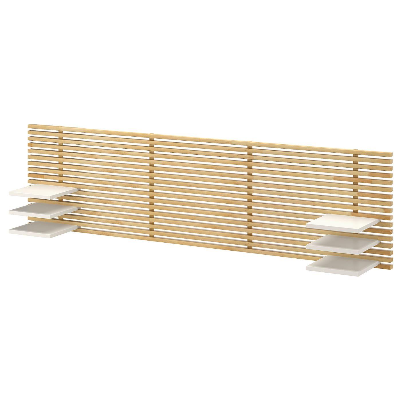 Tete De Lit Ikea Bois mandal tête de lit - bouleau, blanc 240 cm | tête de lit