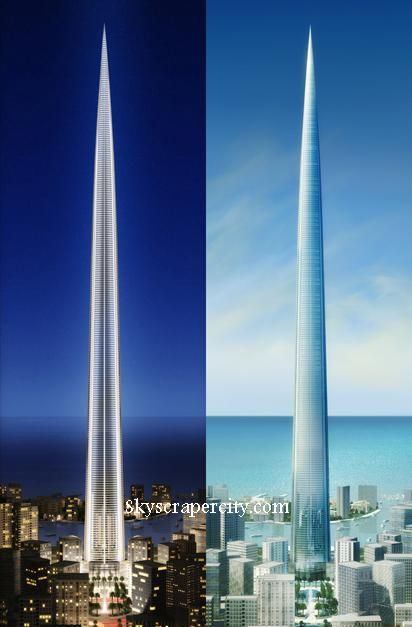 The Kingdom Tower Jeddah Saudi Arabia To Be Constructed Futuristic Architecture Amazing Architecture Futuristic City