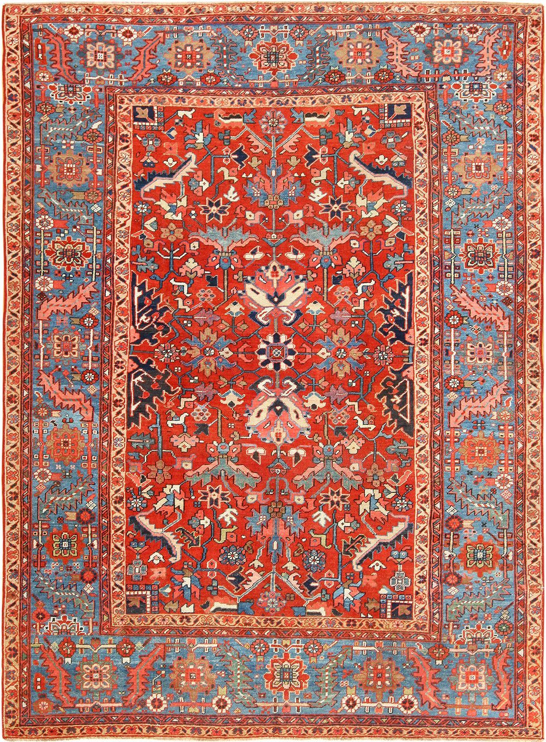 Antique Carpet Room Size Ferahan Oriental Rugs Go Everywhere