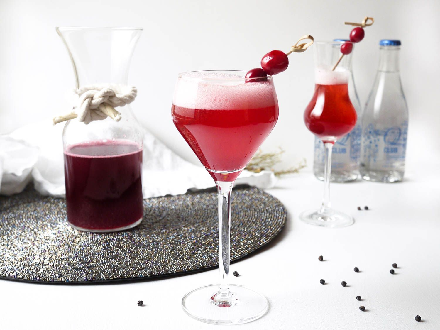 Tangy Cranberry Black Pepper Shrub Cocktail Recipe Recipe Cranberry Cocktail Sparkling Wine Recipes Prosecco Cocktails
