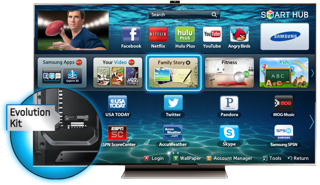 Cyber Monday Samsung UN75ES9000F LED 9000 Smart TV Deals