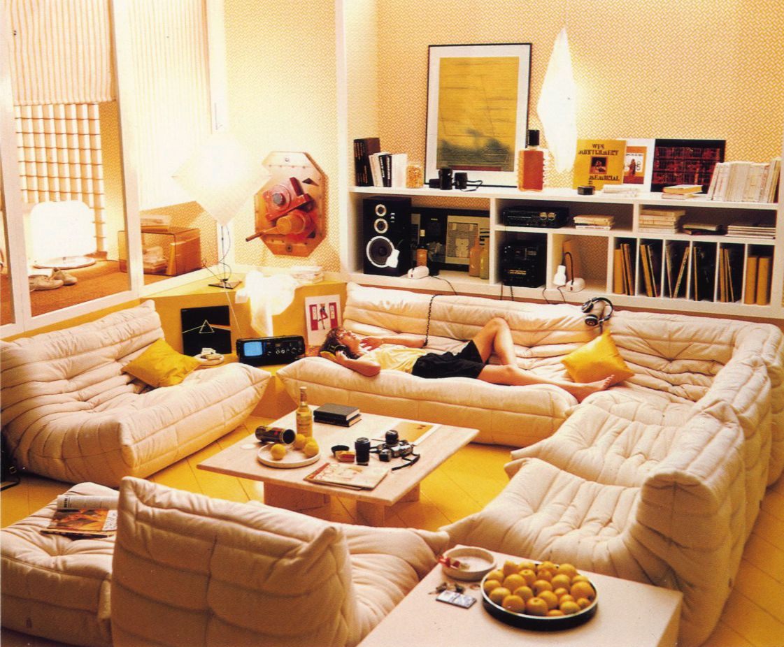 Ecliss Milano Togo 1973 By Ligne Roset Canape Togo Casa Decoration Deco Salon