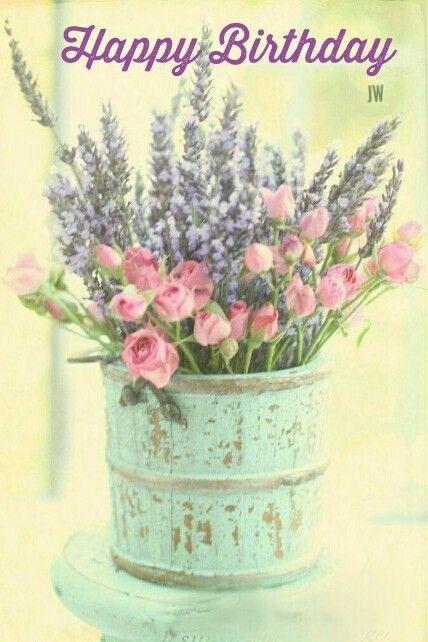 Epingle Par Francoise Sur Fleurs Carte Postale Bon Anniversaire
