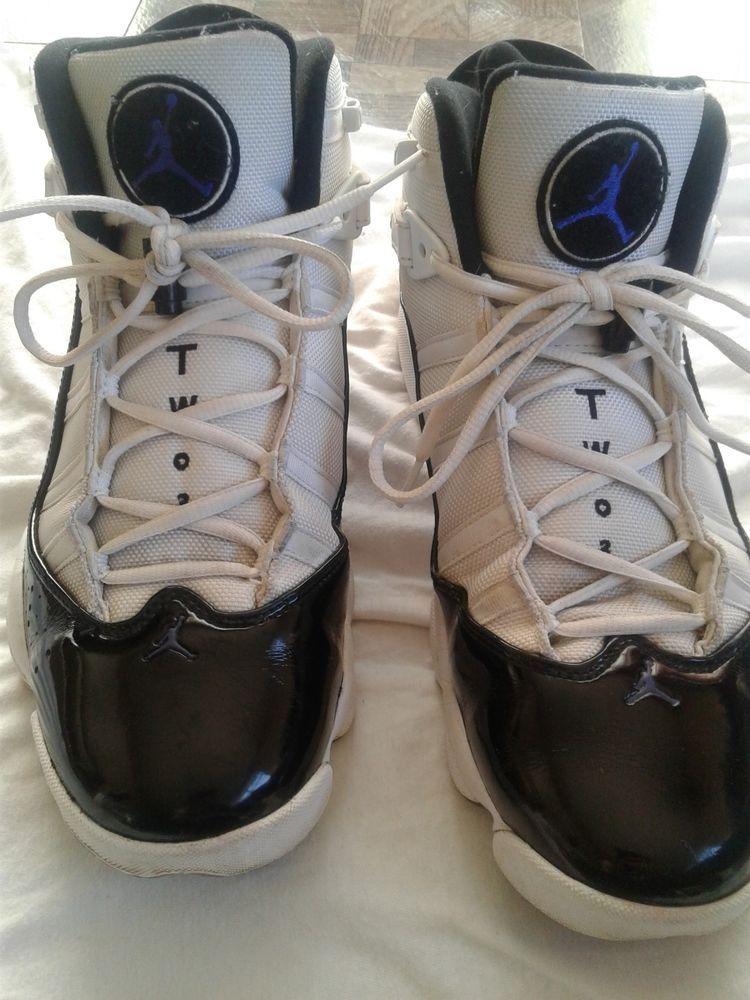 pretty nice 2389e 2a732 Air Jordan 6 Rings Concord XI White Black Sz 11 322992-104 NEW AUTHENTIC