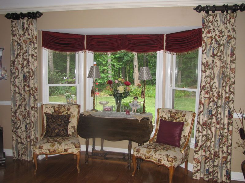 Window Treatments Project Style Llc Dining Room