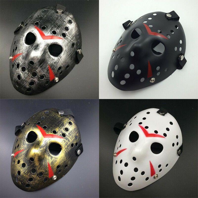 Jason Voorhees Scary Mask prop hockey Halloween Creepy MASK Friday13th