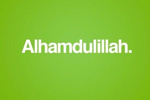 Segala Puji Bagi Allah Tuhan Semesta Alam   Notes   Pinterest ...
