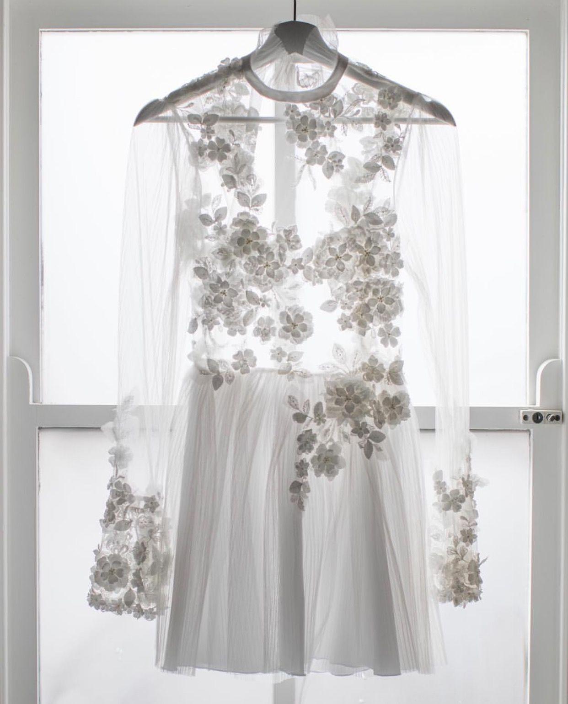 Christie nicole bridal custom made reception dress christie