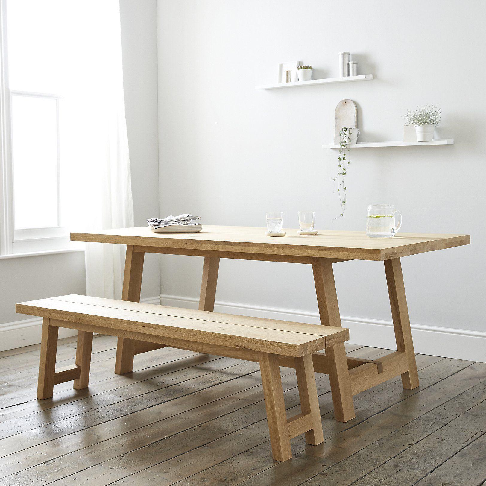 Oak dining table seater the white company uk mchawka