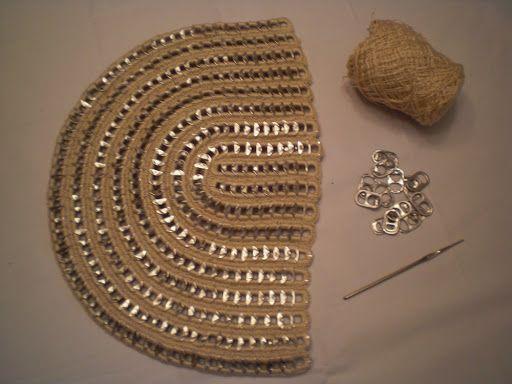 Bolsos de chapas y ganchillo - Imagui | bolsa pet | Pinterest ...