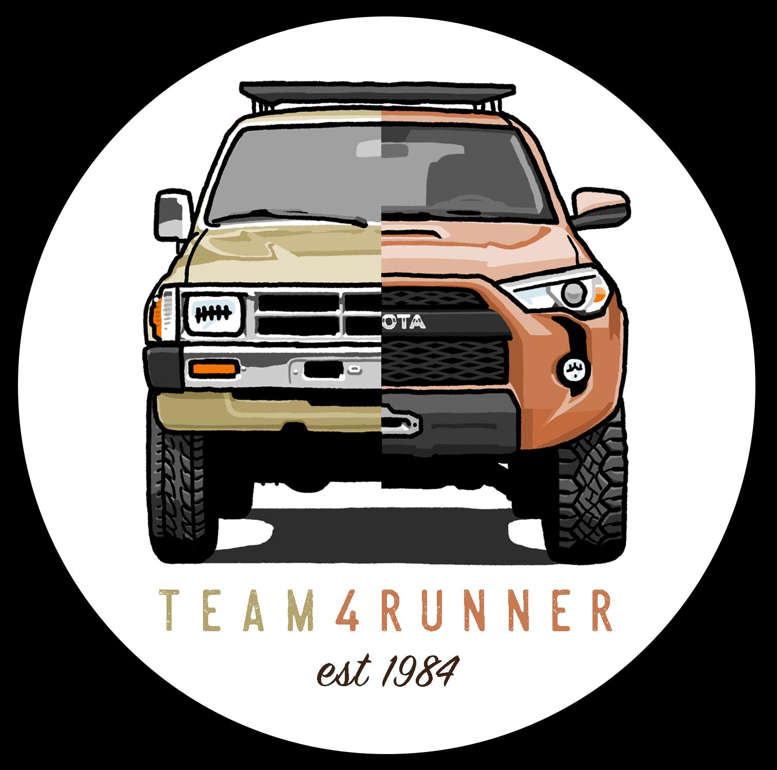 Heritage Sticker 4runner Toyota 4runner Toyota Runner