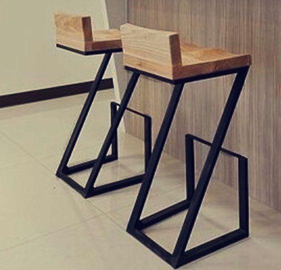 taburetes para barra - Buscar con Google | Muebles reciclados ...