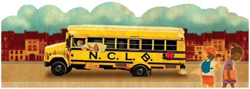 Why the No Child Left Behind Act Is Unsalvageable. Illustrated by Nip Rogers.